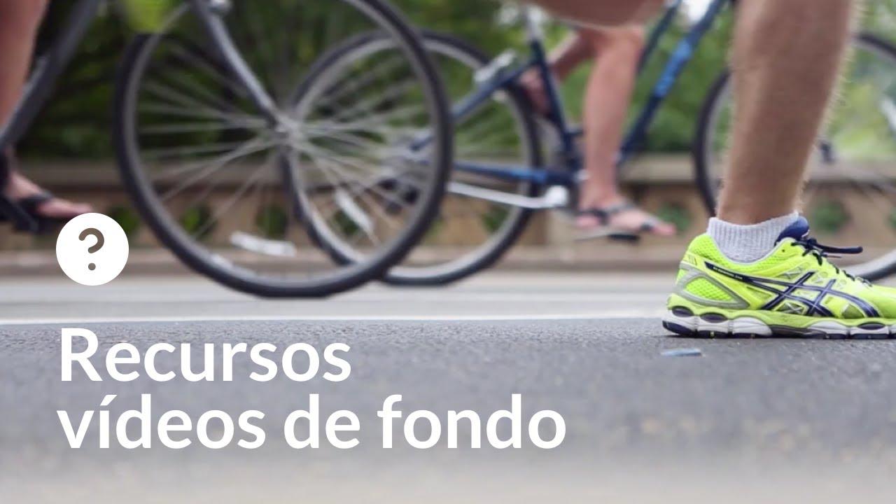 Ciclismo y running en carretera