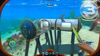 Subnautica - Part 3 - BUILDING MY FIRST BASE!