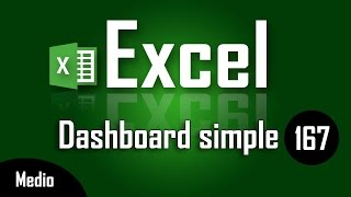 Como Hacer Un Dashboard Simple En Excel - Capítulo 167
