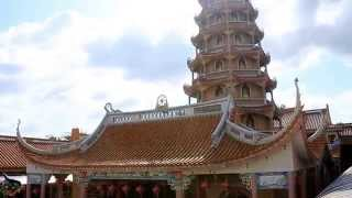 พระอุโบสถ 7 ชั้น วัดเทพพุทธาราม ชลบุรี