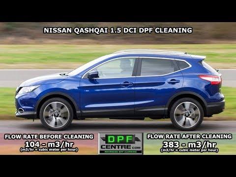 Nissan Qashqai 1 5 DCI DPF Cleaning - смотреть онлайн на Hah