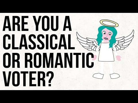 Are You A Classical Or Romantic Voter?