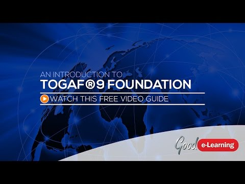 TOGAF 9 Foundation Online Training from Good e-Learning ...