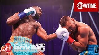 Jaron Ennis Scores Impressive KO of Sergey Lipinets In Round 6  | SHOWTIME CHAMPIONSHIP BOXING