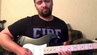 Steve Lukather On My Way Home Solo Cover by Mychael Allen