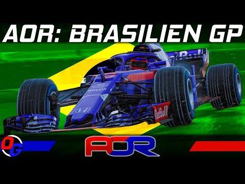 AOR Liga Rennen 18: Brasilien GP – F1 2018 Livestream Deutsch   Formel 1 Gameplay German