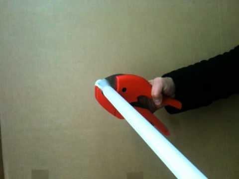 SANPRO Rohrschere Ausführung Automatik für Kunststoff  Verbundrohr 42 mm