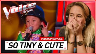 Fans react to CUTEST AUDITIONS of The Voice Kids   Undercover Voice #2