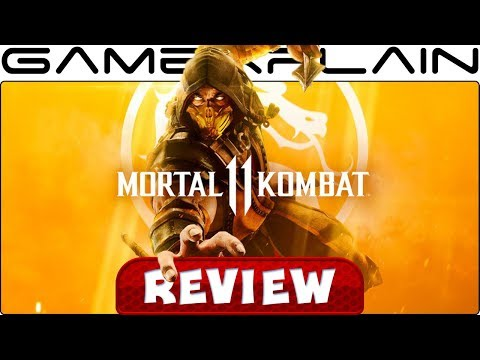 Mortal Kombat 11 - REVIEW - YouTube video thumbnail