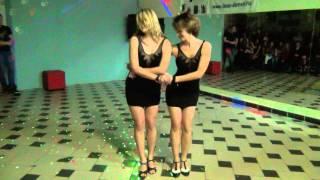 Александра Алешечкина и Евгения Жигалина. Чемпионат по Бачате - 2014 (Пенза)