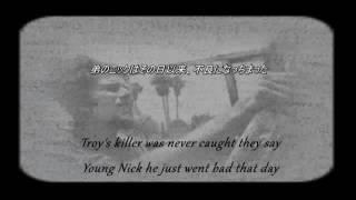 Tom Waits The Fall of Troy  日本語