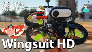 "Best 2.5"" Cinewhoop? HOMFPV Wingsuit - Setup, Review & Flight Footage"