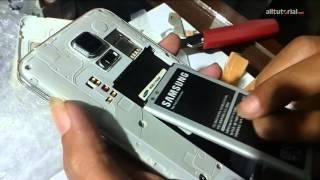 Cek Kondisi Samsung Replika SMG9006V Yang Dikirim Via JNE