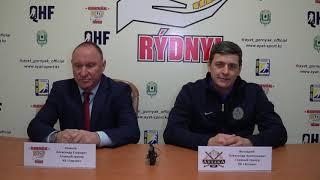 ОЧРК 2019/2020 Пресс-конференция HК «Gornák» - HК «Astana» Матч № 295, 300