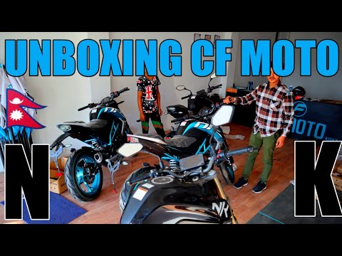 Unboxing Brand New CF MOTO 150 NK | Test Ride Review | Price: NPR. 321,500