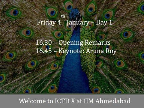 ICTDX Speaker Series