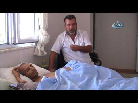 Kanser hastası oğlu için yardım bekliyor
