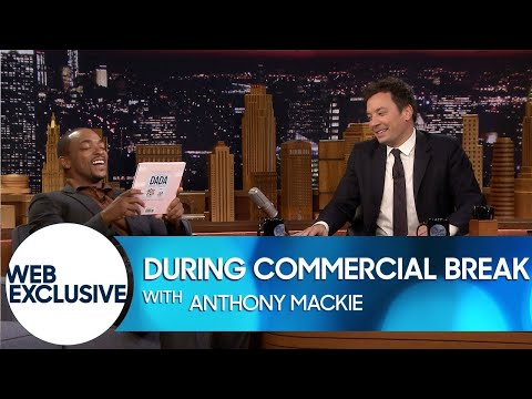 During Commercial Break: Anthony Mackie