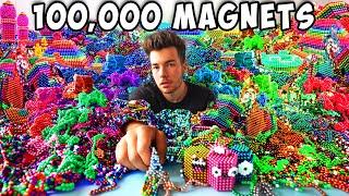I Made A Huge Artwork With 100,000 Magnets