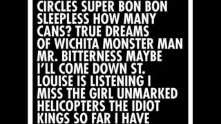 <b>Mike Doughty</b>  Circles Super Bon Bon 2013 Full Album