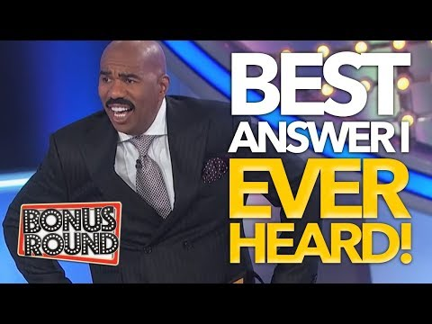 BEST ANSWERS STEVE HARVEY Has EVER Heard On Family Feud USA