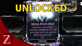 How To Unlock The Melee Riven Mod - Warframe