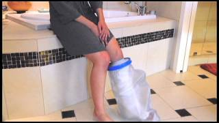 Video: Brownmed Seal Tight Original Cast and Bandage Protector