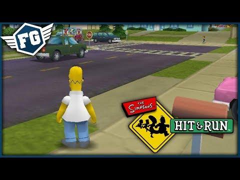 HOMER MÁ MOC PRÁCE - The Simpsons Hit & Run #1