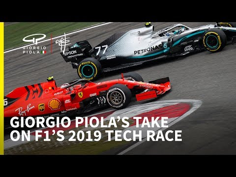 Giorgio Piola's take on 2019 F1 season so far