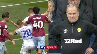 Video The most UNBELIEVABLE scenes in football history?! | Leeds let Villa score after controversial goal! MP3, 3GP, MP4, WEBM, AVI, FLV Agustus 2019