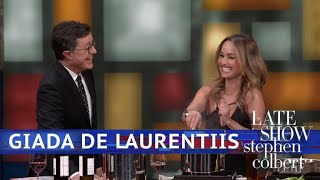 Giada De Laurentiis And Stephen Are Cooking With Wine