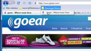 Bajar mp3 sin ares desde goear.com