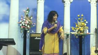 05 - 08- 2015, Bible Study  On Sanctification Series By Pastor Pramila Jeyaraj