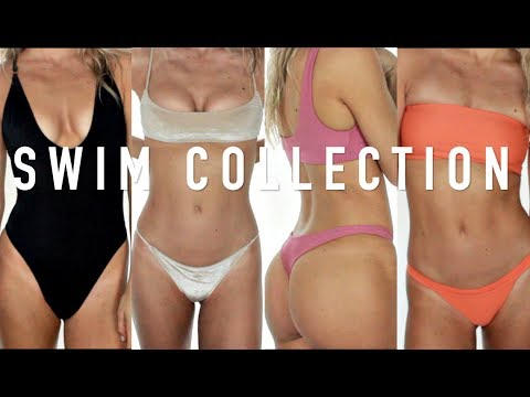 TRY ON BIKINI COLLECTION 2017 (Myra Swim, Gooseberry, Triangl + Anna Swimwear)