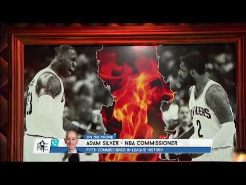 "NBA Commish Adam Silver Reacts to Kyrie Irving's Trade Demand: ""It's Upsetting"" 