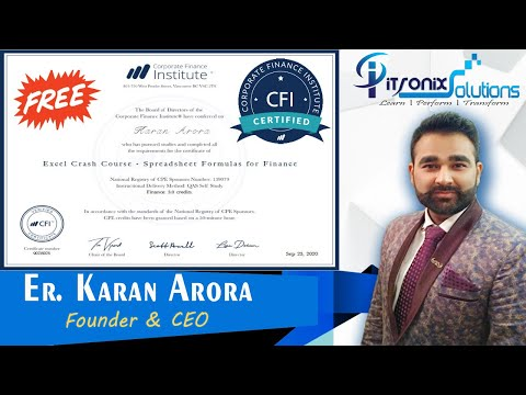 Finance Free Online Courses with Certificate - Corporate Finance ...