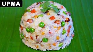 Veg Upma Recipe Hindi – Indian Breakfast | CookWithNisha