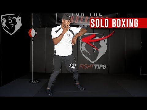 10 Solo Boxing Drills You Can Practice at Home - YouTube