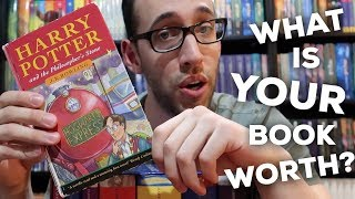 WHAT IS YOUR HARRY POTTER BOOK WORTH? FIRST EDITION vs FIRST PRINTING