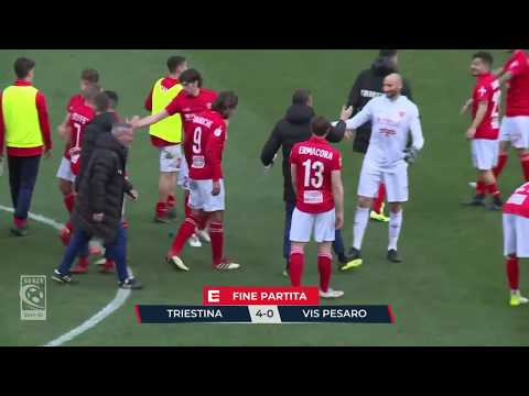 Triestina-Vis Pesaro: Highlights