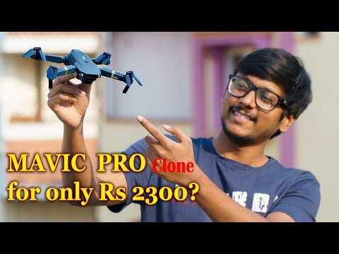 DJI Mavic Pro Clone!! Eachine E58 Drone Review & Flight Test