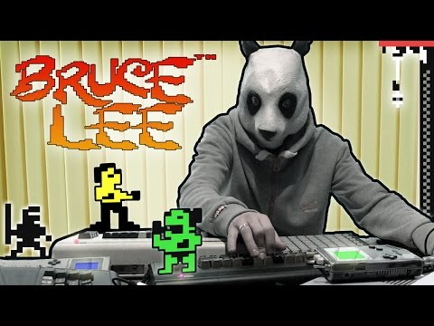 BRUCE LEE (1984) - LukHash REMIX (performed by Kung Foo Panda)