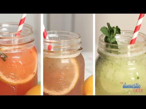 Video 3 Refreshing Lemonade Recipes