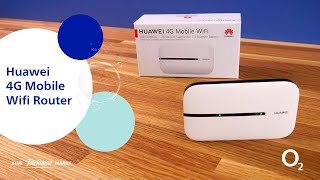 Huawei 4G Mobile Wifi Router - Ersteinrichtung