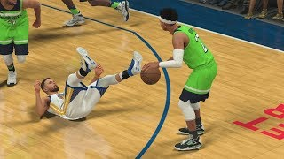 NBA 2K18 My Career - Backwards Lob! CFG5 PS4 Pro 4K Gameplay