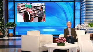 Ellen in Neil Patrick Harris' Ear