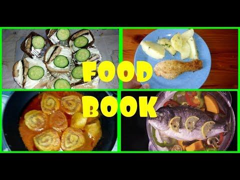 FOOD BOOK/Что мы едим/Меню на неделю/Простые рецепты/
