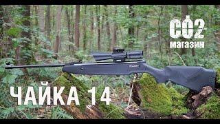 Пневматическая винтовка Чайка 14 от компании CO2 - магазин оружия без разрешения - видео 2