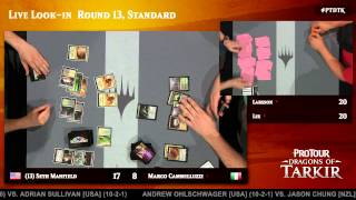 Pro Tour Dragons of Tarkir Round 13 (Standard): Rick Lee vs. Joel Larsson