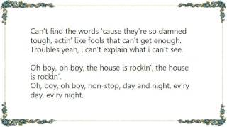Cheap Trick - The House Is Rockin' With Domestic Problems Live Lyrics